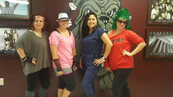 Elementary Teachers rocking the 80's!