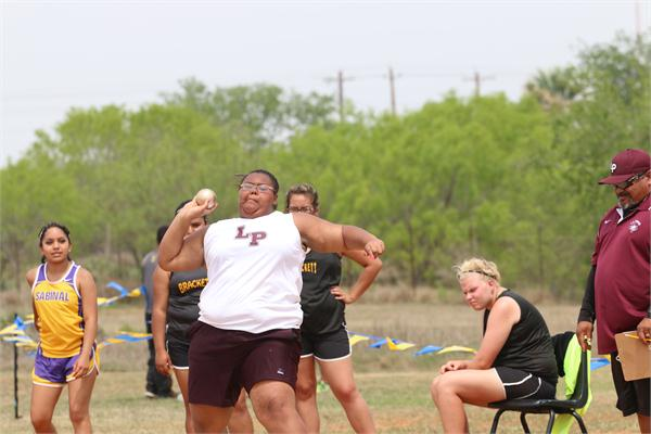 Lari Delgado - Shot Put