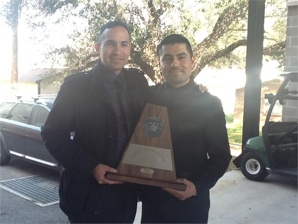 James Quintero, Associate Band Director and Joe Martinez, Band Director