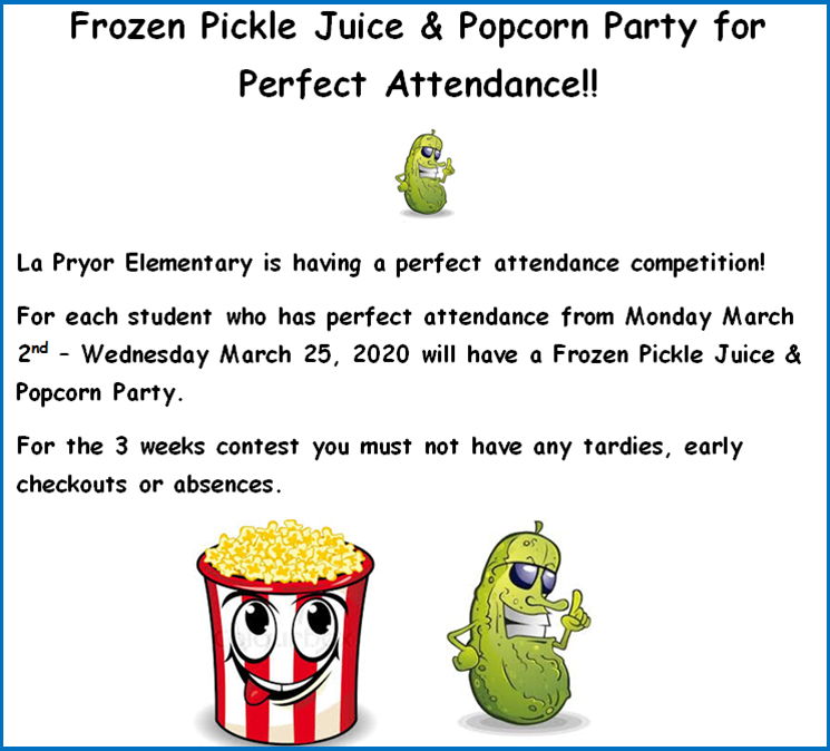perfect attendance party
