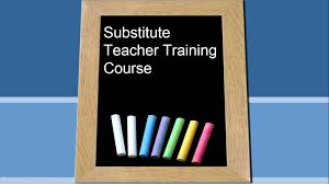 Substitute training