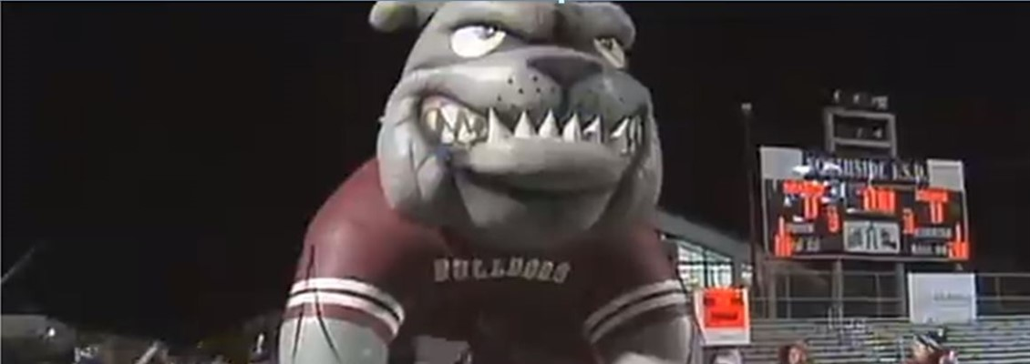 Friday October 7th all elementary students with perfect attendance will run through the bulldog before the game.