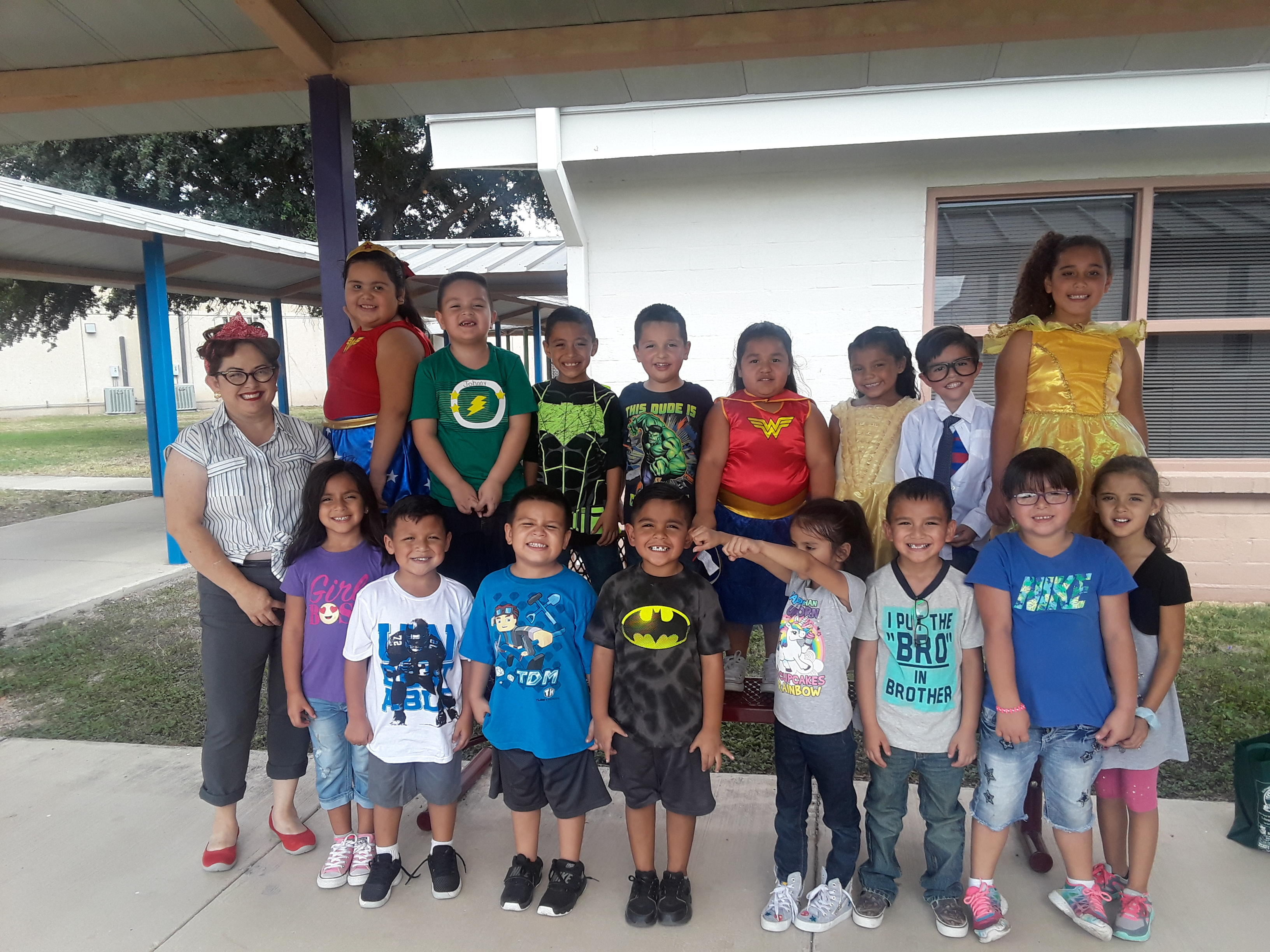 KINDER CLASS - CHARACTER DAY