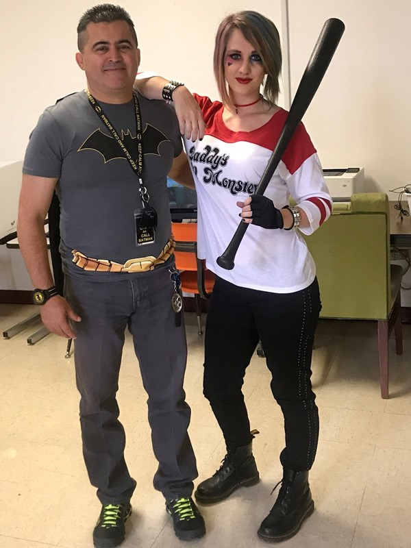 Character Day - Mr. De La Fuente and Mrs. Moffett