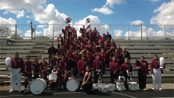 2014-2015 MARCHING BAND