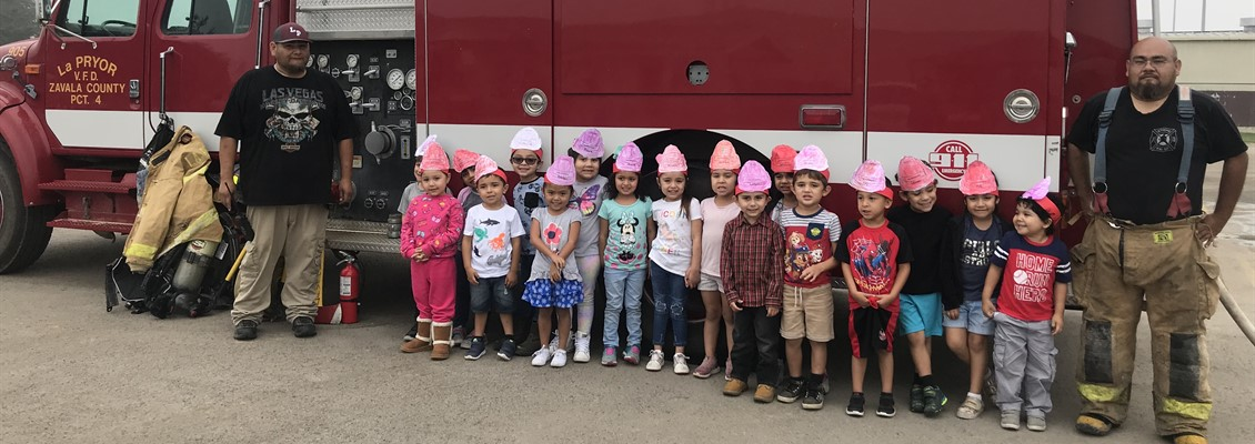 LP Volunteer firefighters visit