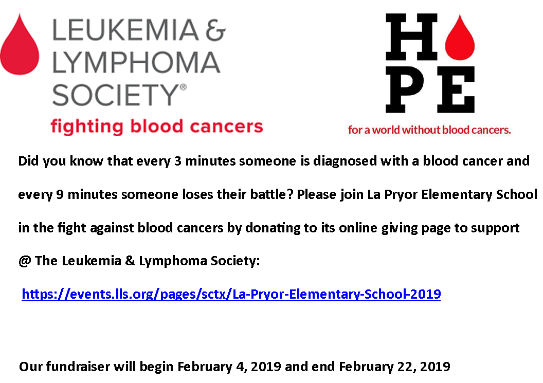 FUNDRAISER - LEUKEMIA & LYMPHOMA